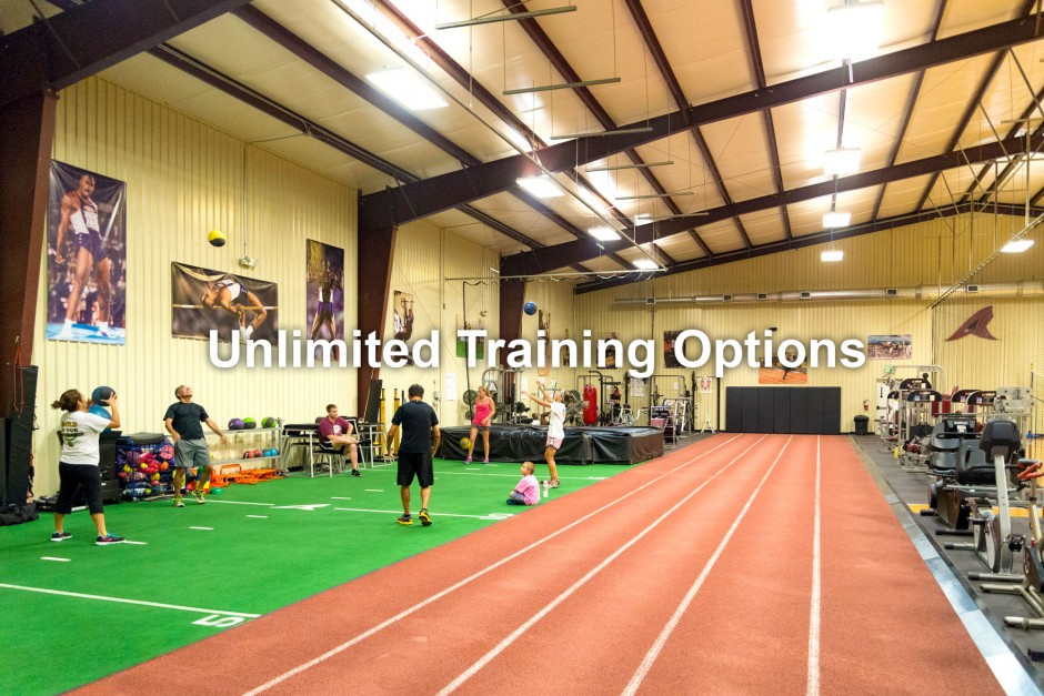 VARIETY OF TRAINING OPTIONS