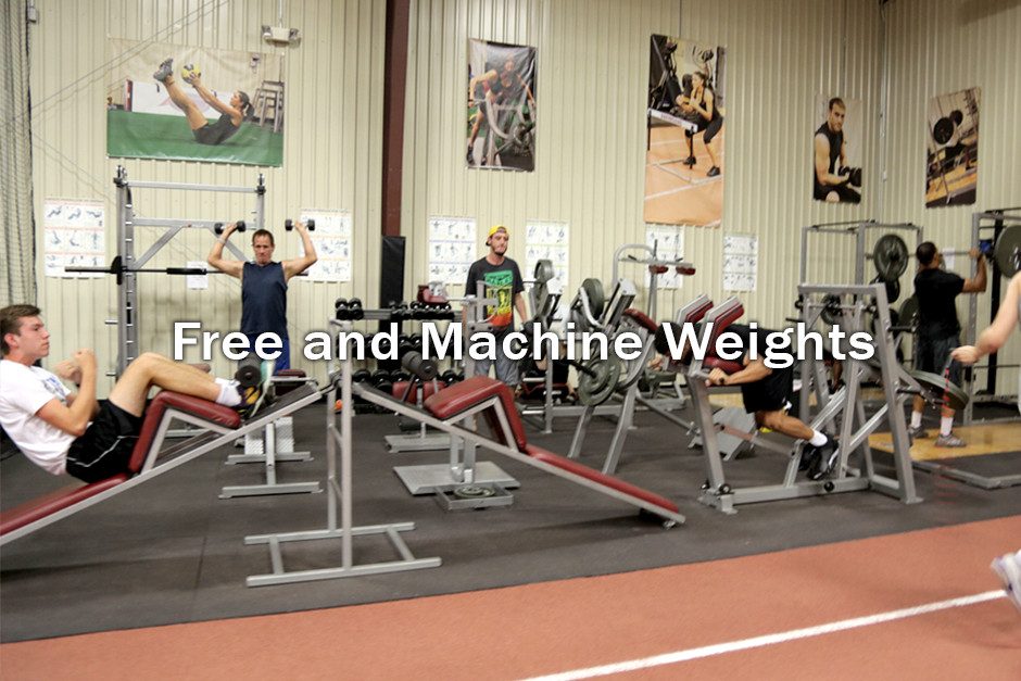 Free and Machine Weights